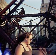 Kinzie Street Bridge.Chicago, Illinois.2007.Holga