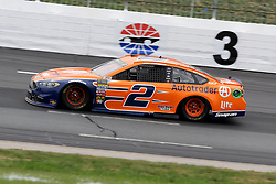 July 22, 2018 - Loudon, NH, U.S. - LOUDON, NH - JULY 22: Brad Keselowski, driver of the #2 Autotrader Ford in turn 3 during the Monster Energy Cup Series Foxwoods Resort Casino 301 race on July, 21, 2018, at New Hampshire Motor Speedway in Loudon, NH. (Photo by Malcolm Hope/Icon Sportswire) (Credit Image: © Malcolm Hope/Icon SMI via ZUMA Press)