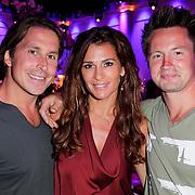 NLD/Hilversum/20120821 - Perspresentatie RTL Nederland 2012 / 2013, Lodewijk Hoekstra, Quinty Trustfull - van den Broek en Thomas Verhoef
