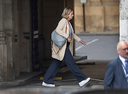 © Licensed to London News Pictures. 03/09/2019. London, UK. Pensions Secretary Amber Rudd walks to The House of Commons. Parliament is returning from the summer recess today with MPs expected to try to stop a no-deal Brexit. Prime Minister Boris Johnson has threatened to hold a snap election if the legislation is passed. Photo credit: Peter Macdiarmid/LNP