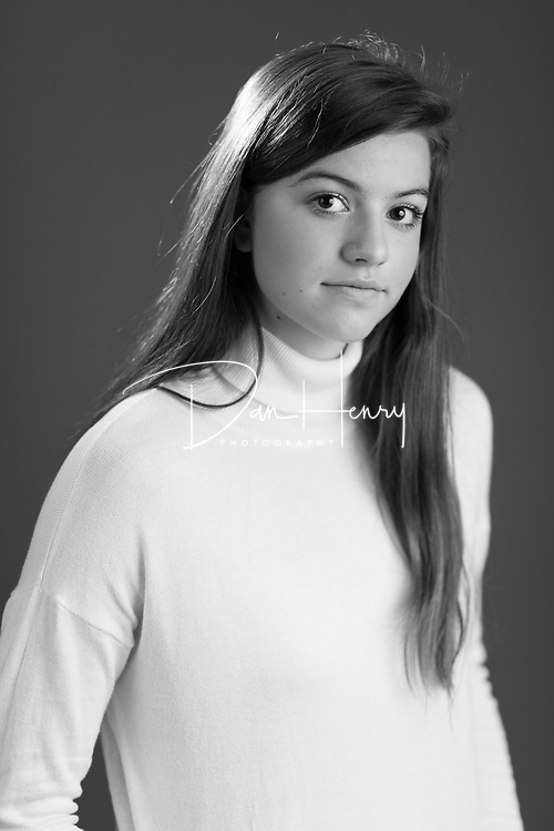 SMHS Junior Sophia Fowler's theater headshots - Photo by Dan Henry / DanHenryPhotography.com