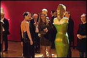 NEFER SUVIO, ANASTASIA WEBSTER, Allen Jones private view. Royal Academy,  London. 11 November  2014.