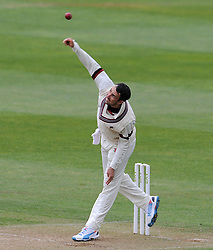 Somerset's Tom Cooper.- Photo mandatory by-line: Harry Trump/JMP - Mobile: 07966 386802 - 27/04/15 - SPORT - CRICKET - LVCC Division One - County Championship - Somerset v Middlesex - Day 2 - The County Ground, Taunton, England.