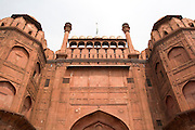 India, Delhi, The Red Fort Lahore Gate