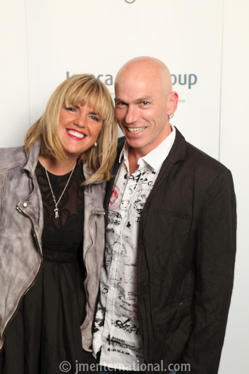 Angie Moxham (CEO of 3 Monkey's PR) and Mark Kelly (CEO of the FAC)