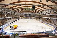 2019-10-02 | Umeå, Sweden: a view over the arena before the game in HockeyAllsvenskan between Björklöven and Vita Hästen at A3 Arena ( Photo by: Michael Lundström | Swe Press Photo )<br /> <br /> Keywords: Umeå, Hockey, HockeyAllsvenskan, A3 Arena, Björklöven, Vita Hästen, hockey, icehockey