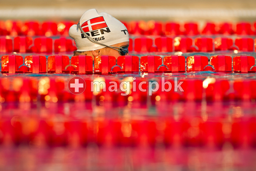 Lotte FRIIS of Denmark is pictured during a training session at the European Swimming Championship at the Hajos Alfred Swimming complex in Budapest, Hungary, Friday, Aug. 13, 2010. (Photo by Patrick B. Kraemer / MAGICPBK)