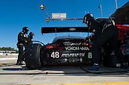 #48 Paul Miller Racing Porsche 911 GT3 RSR: Bryce Miller, Sascha Maassen, Emmanuel Collard
