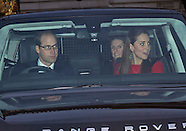 Prince George Joins Royals For Xmas Lunch, Buck Palace