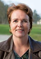SOESTDUINEN - Bestuurslid Liz Weima. Algemene Ledenvergadering van de NGF (Nederlandse Golf Federatie) met bestuurswisseling. COPYRIGHT KOEN SUYK