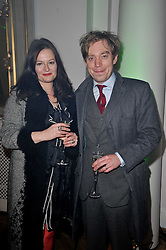 NICK & CHARLOTTE LLOYD WEBBER at the press night of the new Andrew Lloyd Webber  musical 'The Wizard of Oz' at The London Palladium, Argylle Street, London on 1st March 2011 followed by an aftershow party at One Marylebone, London NW1