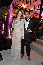 ALICE TEMPERLEY and her husband LARS VON BENNIGSEN at the Raisa Gorbachev Foundation Gala held at the Stud House, Hampton Court, Surrey on 22nd September 22 2011