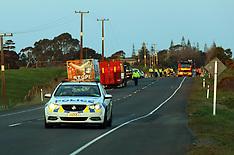 Tauranga-Two dead on car v truck, Pukehina