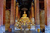 Thailande, Petchaburi, Wat Yai Suwannaram // Thailand, Petchaburi, Wat Yai Suwannaram