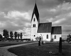 Parish of Tofta Medieval Church, near Visby, Gotland, Sweden