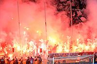 Supporters de Bordeaux  / Fumigenes - 09.05.2015 - Bordeaux / Nantes  - 36eme journee de Ligue 1<br />Photo :  Caroline Blumberg / Icon Sport