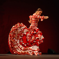 Rocio Molina performs at Sadler's Wells Flamenco festival