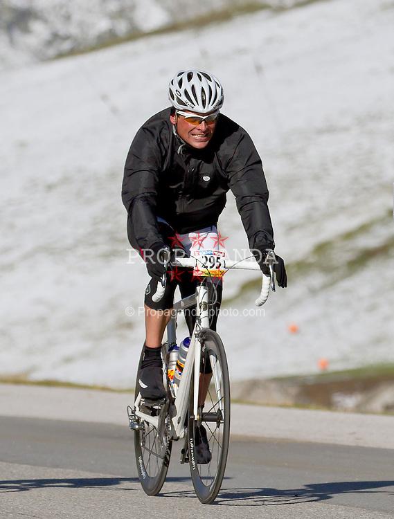 28.08.2011, AUT, Oetztaler Radmarathon 2011, im Bild Jan Ullrich #295, during the Oetztaler Radmarathon 2011, EXPA Pictures © 2011, PhotoCredit: EXPA/ P.Rinderer