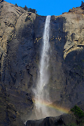 Bridalveil Fall, Yosemite National Park, California, USA.