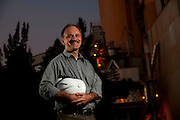 Barroso_MG, Brasil...Claudio Butkos, gerente da fabrica  Holcim de Barroso...Claudio Butko, He is the manager of the Holcim in Barroso...Foto: LEO DRUMOND / NITRO