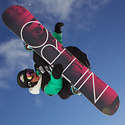 Steve Krijbolder, The Netherlands, in action during the Men's Half Pipe Qualification in the LG Snowboard FIS World Cup, during the Winter Games at Cardrona, Wanaka, New Zealand, 27th August 2011. Photo Tim Clayton.