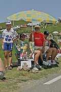 Tour de France 2005 <br /> Lance Armstrong and other riding in the 2005 Tour de France.