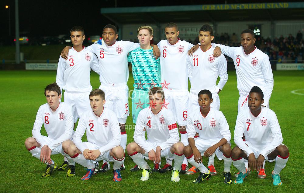¿Cuánto mide Marcus Rashford? - Altura - Real height 121101-039-Wales-U16-England-U16