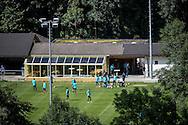 LE CHABLE, training PSV, voorbereiding op het nieuwe seizoen 2016-2017, 15-07-2017, Stade St Marc Le Chable, sfeer, overzicht, PSV traint in het dal onder het ski-oord Verbier.