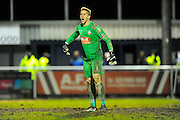 Bolton Wanderers Ben Amos during the The FA Cup third round match between Eastleigh and Bolton Wanderers at Silverlake Stadium, Ten Acres, Eastleigh, United Kingdom on 9 January 2016. Photo by Graham Hunt.