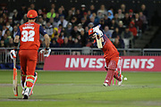 Lancashire Lightnings Alex Davies  during the Vitality T20 Blast North Group match between Lancashire Lightning and Leicestershire Foxes at the Emirates, Old Trafford, Manchester, United Kingdom on 30 August 2019.