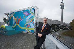 Joachim Herrmann bei der UEFA Euro 2020 Logo Pr‰sentation f¸r die Spiele in M¸nchen / 271016<br /> <br /> ***Presentation of the Logo for the Munich games at the UEFA EURO 2020, October 27th, 2016***