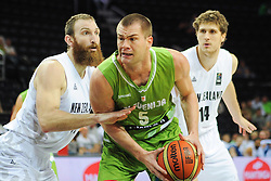 Uros Slokar of Slovenia during friendly match between National Teams of Slovenia and New Zealand before World Championship Spain 2014 on August 16, 2014 in Kaunas, Lithuania. Photo by Vid Ponikvar / Sportida.com