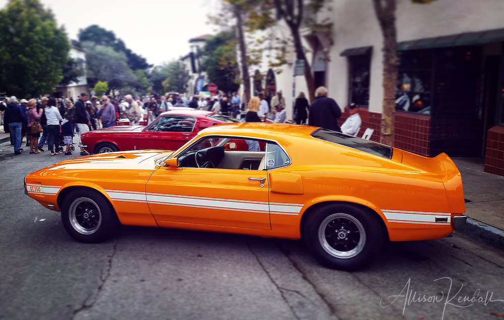 Scenes from Ocean Avenue in Carmel-by-the-Sea, during the Carmel Concours on the Avenue 2016 event<br />