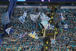 November 5, 2019, Saint-Petersburg, Russia: Russian Federation. Saint-Petersburg. Gazprom Arena. Football. UEFA Champions League. Group G. round 4. Football club Zenit - Football Club RB Leipzig. Player of fans, spectators, fans, (Credit Image: © Russian Look via ZUMA Wire)