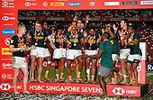 Apr 14, 2019-Rugby-HSBC Singapore Sevens-Fiji vs South Africa