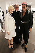 New York, NY-December 3: (L-R) Deborah Clark, SVP, Marketing, Lafayette 148, Edward Wilkerson, Creative Director, Lafayette 148and Author/Designer Harriette Cole attends Harriette Cole's 20th Anniversary Business Celebration held at Lafayette 148 Headquarters on December 3, 2015 in New York City.  (Photo by Terrence Jennings/terrencejennings.com)