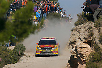 MOTORSPORT - WORLD RALLY CHAMPIONSHIP 2010 - RALLY RACC CATALUNYA COSTA DAURADA / RALLY DE ESPANA / RALLYE D'ESPAGNE - SALOU (SPA) - 21 TO 24/10/10 - PHOTO : BASTIEN BAUDIN / DPPI - <br /> SOLBERG PETTER (NOR) / PATTERSON CHRIS (GBR) - CITROËN C4 WRC - PETTER SOLBERG WRT - ACTION