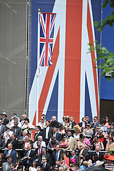 GRANDSTAND at day 1 of the Royal Ascot Racing Festival 2012 held on 19th June 2012.