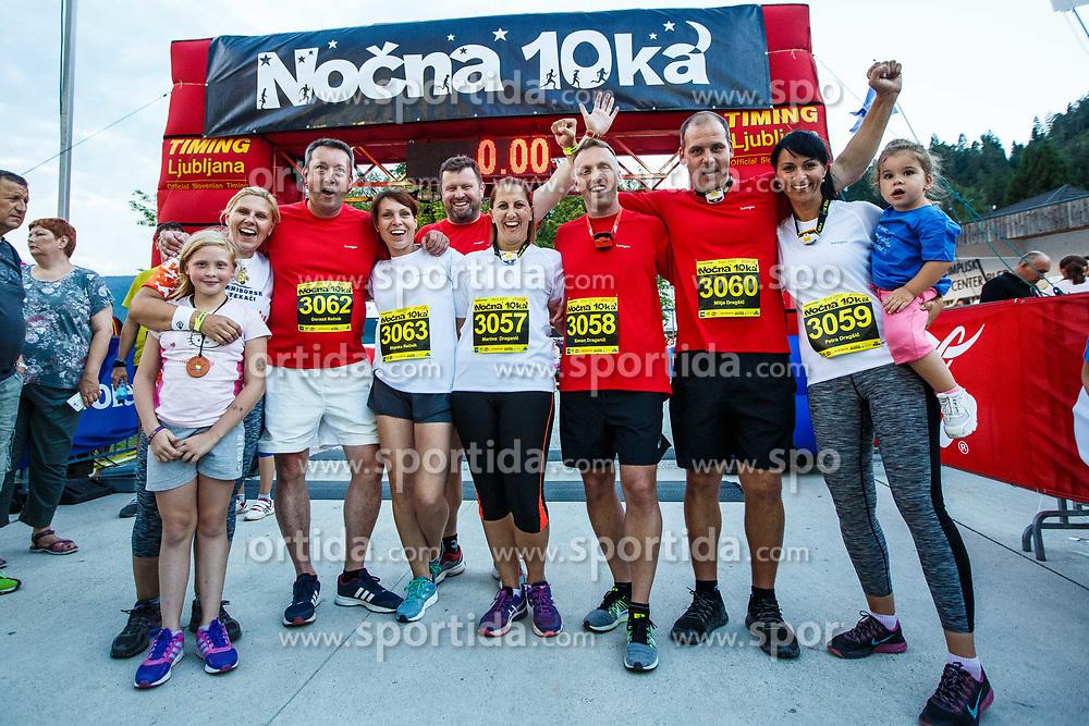 11th Nocna 10ka 2017, traditional run around Bled's lake, on July 08, 2017 in Bled,  Slovenia. Photo by Grega Valancic/ Sportida