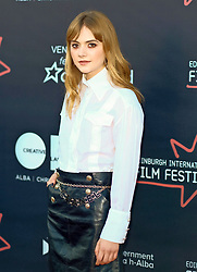 Edinburgh International Film Festival, Saturday, 23rd June 2018<br /> <br /> 'TWO FOR JOY' World Premiere<br /> <br /> Pictured:  Emelia Jones<br /> <br /> (c) Alex Todd | Edinburgh Elite media