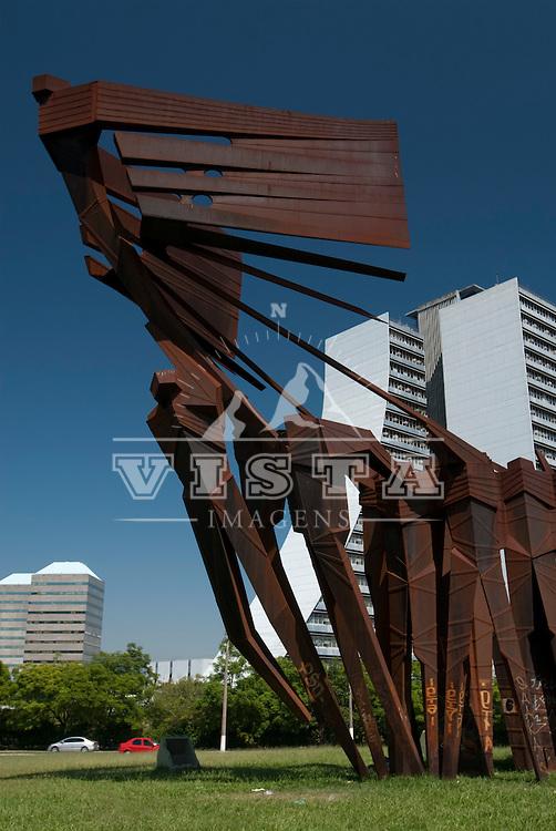 Monumento aos acorianos, Largo dos acorianos, Porto Alegre, Rio Grande do Sul, Brasil, foto de Ze Paiva, Vista Imagens.