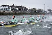 London. UNITED KINGDOM.   Tideway Week. 162nd BNY Mellon Boat Race  and The 71st Newton Women's Boat Race on the Championship Course, River Thames, Putney/Mortlake.  Saturday  26/03/2016    [Mandatory Credit. Intersport Images]<br /> <br /> Cambridge University Boat Club {CUBC}<br /> <br /> Cambridge, Crew, Bow: Felix Newman – 83.2kg, 2: Ali Abbasi – 88.4kg, 3: Charles Fisher – 91.8kg, 4: Clemens Auersperg – 90.4kg, 5: Luke Juckett – 82.0kg, 6: Henry Hoffstot –  92.6kg, 7: Ben Ruble – 83.4kg, Stroke: Lance Tredell – 94.2kg, Cox: Ian Middleton – 54.0kg