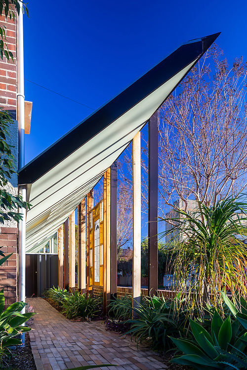2nd of 3 houses marrickville by david boyle architect
