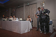 Extraordinary moment paralysed man WALKED 30 steps and stood to give his father of-the-bride speech at his daughter's wedding - powered by a robotic suit <br /> <br /> For most men, giving a father of the bride speech is one of the proudest moments of their lives.<br /> <br /> But after IT consultant Irving Caplan was paralysed in a cycling accident, he feared he may have to address guests at his daughter's wedding from a wheelchair.<br /> <br /> However, thanks to the latest in robotic technology, the 55-year-old walked across the dance floor of a wedding venue last month and delivered his speech standing up.<br /> <br /> Mr Caplan, from Stanmore, Middlesex, broke three vertebrae when he collided with a lorry in Edgware, north-west London on his morning cycle to work two years ago.<br /> <br /> After undergoing a series of operations and spending 12 days in intensive care, he was left tetraplegic and needing a wheelchair to get around.<br /> <br /> When his daughter Joanne announced she was to marry fiancé Mike Beaumont, Mr Caplan feared he would be unable to walk his daughter down the aisle or deliver his speech standing up.<br /> <br /> But after he and wife Karen, 57, met a representative of Rex Bionics at an exhibition of technologies for the disabled, he was lent the robotic suit to allow him to stand and walk.<br /> <br /> 'The guests were gobsmacked when I walked out. It was the usual speech, thanking everyone for coming and hoping everybody had a good evening, but I certainly surprised them all with my entrance.<br /> <br /> 'It wasn't possible for a number of reasons for me to walk Joanne down the aisle, but I was able to do my speech standing up.<br /> <br /> 'It is quite an issue when you end up in a wheelchair, being at the wrong height compared to everybody else. But being able to speak to everybody from the right height did make quite a difference.<br /> <br /> 'It made a difference to me in the sense that I was doing it from the right perspective.<br /> <br /> 'The day was wonderful. It was everything you would hope your daughter's wedding day to be. Unfortunately I could not do everything