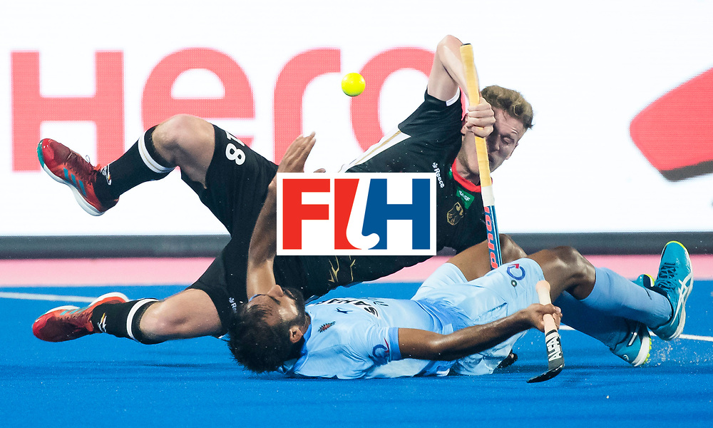 BHUBANESWAR - The Odisha Men's Hockey World League Final . Ferdinand Weinke (Ger) during  the match India v Germany. WORLDSPORTPICS COPYRIGHT  KOEN SUYK