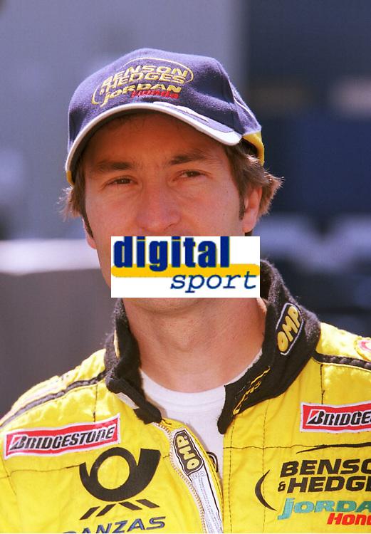 Heinz-Harald FRENTZEN,<br />              Motorsport  Formel 1 Jordan - Honda