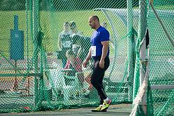 Nikola Novosel from Croatia during 13. Athletic memorial miting Matica Sustersica in Patrika Cvetana 2018, on June 27, 2018 in Stadion ZAK, Ljubljana, Slovenia. Photo by Urban Urbanc / Sportida