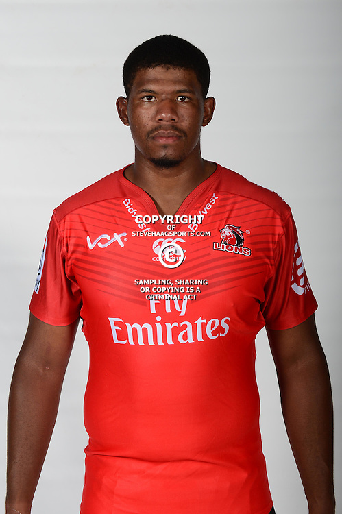 JOHANNESBURG, SOUTH AFRICA - JANUARY 13: Marvin Orie during the Emirates Lions photocall session at Emirates Airline Park on January 13, 2107 in Johannesburg, South Africa. (Photo by Lee Warren/Gallo Images)