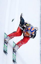 Peter Prevc of Slovenia competes during Trial round of the FIS Ski Jumping World Cup event of the 58th Four Hills ski jumping tournament, on January 5, 2010 in Bischofshofen, Austria. (Photo by Vid Ponikvar / Sportida)