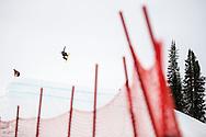Sebastien Toutant during Men's Snowboard Slopestyle Finals at the 2016 X Games Aspen in Aspen, CO. ©Brett Wilhelm/ESPN